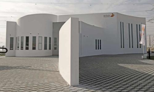 A building in Dubai created through three-dimensional printing.